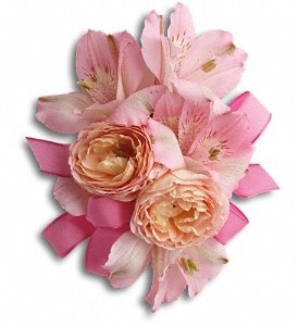 Order Beloved Blooms Corsage T200-3A from FDH Flowers, your local Houston florist.