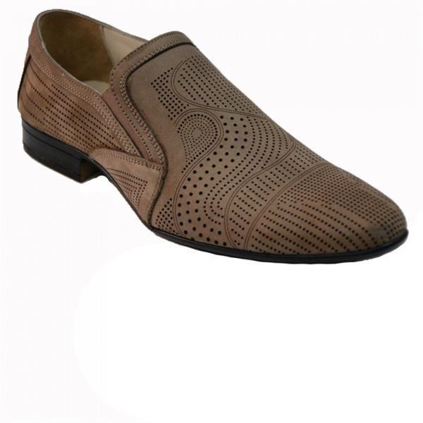Мужские туфли летние из нубука