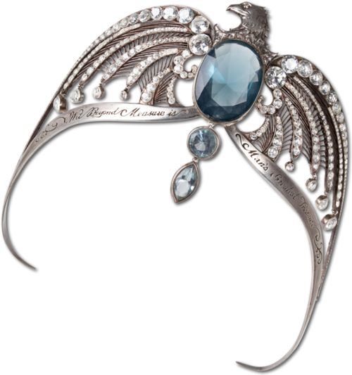 The diadem of Rowena Ravenclaw (the potterhead in me is happy happy)
