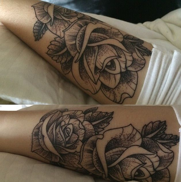 Acacias rose tat ink pinterest acacia tatuajes y for Tattoo hair line