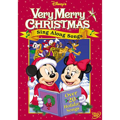 Sing Along Songs: Very Merry Christmas Songs DVD | Entertainment | Disney Movies that Start with S | Disney Store