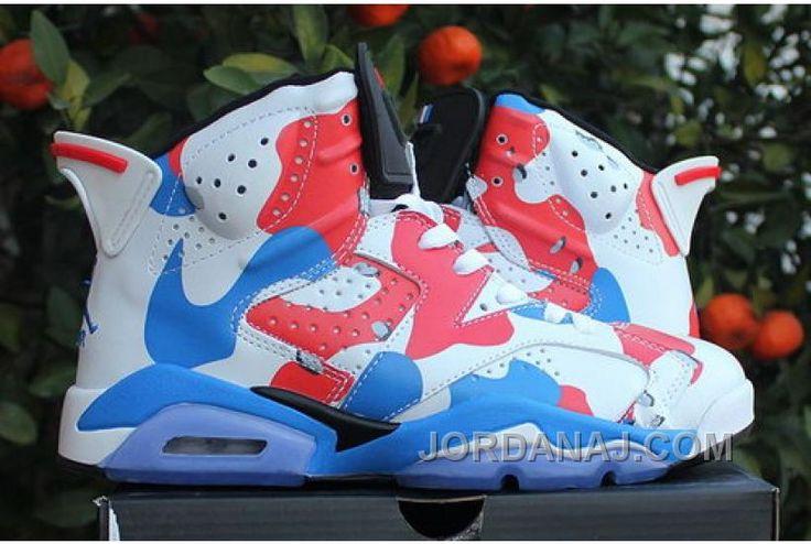 http://www.jordanaj.com/reduced-nike-air-jordan-vi-6-retro-mens-shoes-hot-white-red-sky-blue.html REDUCED NIKE AIR JORDAN VI 6 RETRO MENS SHOES HOT WHITE RED SKY BLUE Only 89.67€ , Free Shipping!