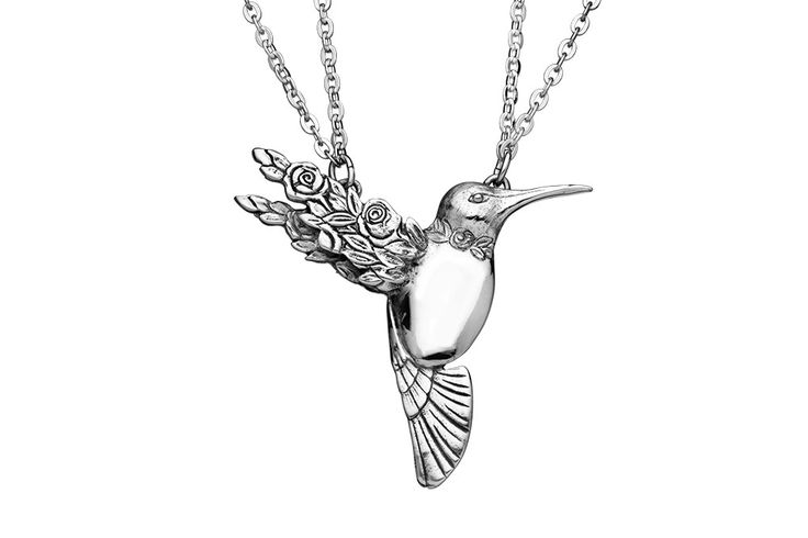Hummingbird Necklace from Silver Spoon Jewelry