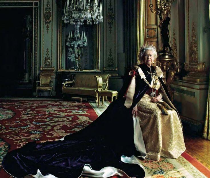 Queen Elizabeth Coronation Day Hm Queen Elizabeth Ii