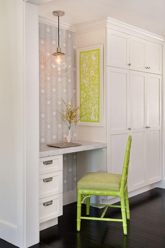 25 best kitchen desk areas ideas on pinterest kitchen for Kitchen office nook