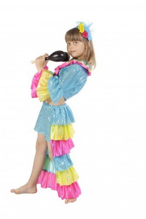 Como hacer disfraz de rumbera para niña - Imagui