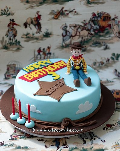 Woody - Toy Story Cake | Flickr - Photo Sharing!