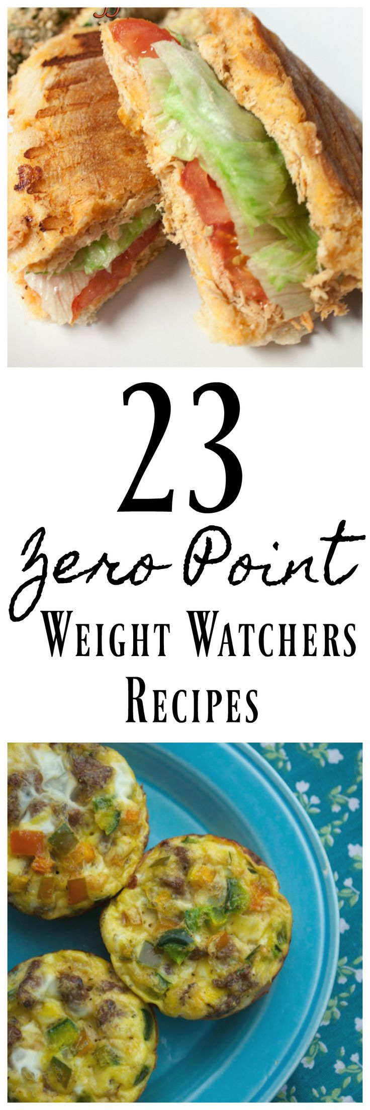 These Zero Point Weight Watchers Recipes are perfect for anyone doing Weight Watchers. All 21 recipes have no points and they are tasty too!