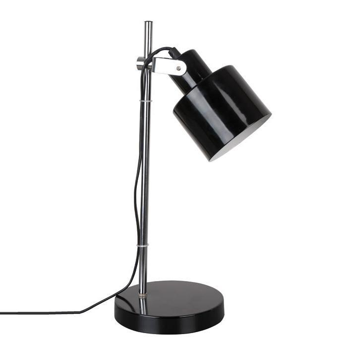 Corep VINTAGE - Lampa biurkowa Czarna
