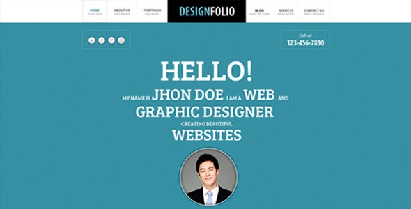 Design Folio - ThemeForest Item for Sale