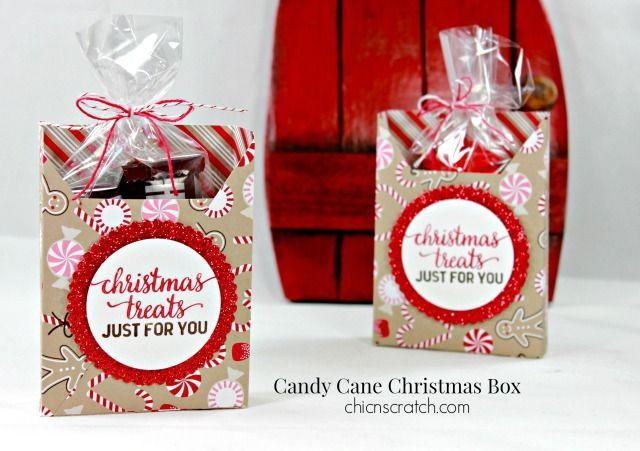 Candy Cane Christmas Box | Chic' n Scratch | Bloglovin'