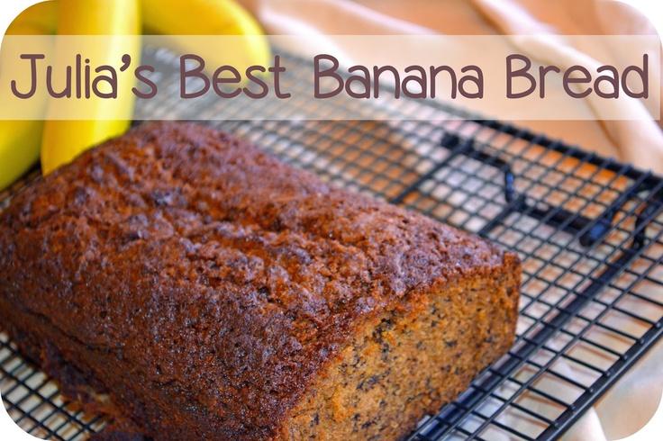 Macke Monologues: Julia's Best Banana Bread