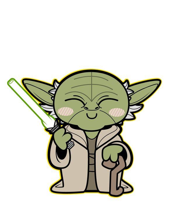 A ilustradoraKepala Kardus, tem um portfólio de personagens muito bacana, incluindo uma série de versões das personagens de Star Wars, entitulados como Kawaii Saga, confiram: