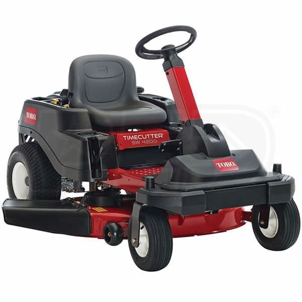 Buy Toro 74784 Direct. Free Shipping. Tax-Free. Check the Toro TimeCutter SW4200 (42-Inch) 24.5HP Steering Wheel Zero Turn Lawn Mower ratings before checking out.