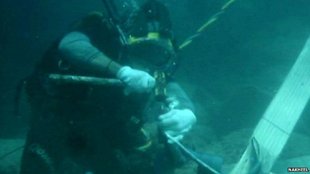 BBC News - Dubai tourism gets boost from $10m coral reef relocation