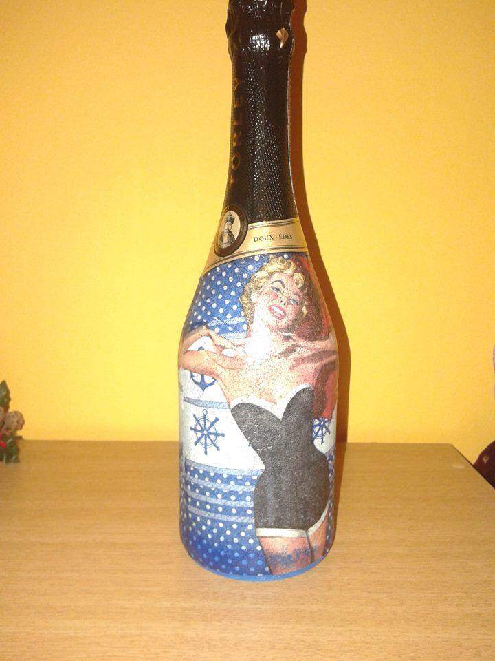 Törley pezsgő ajándékba,  kicsit átcimkéztem