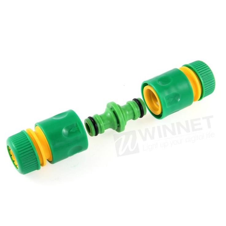 """Garden ABS Tap Hose Connector Adapter Pipe Fit 1/2"""" Quick Release Female & Male"""