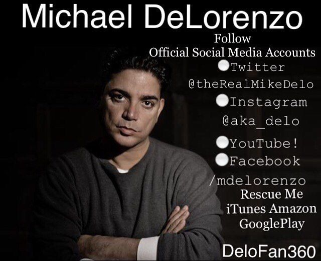 No Doubt My #MCM #MCE is #MichaelDeLorenzo @aka_delo HANDS DOWN! 💯😍 Been My Crush Since The 80's And Ain't Nothin' Changed! #MyBoo #SoDamnFine #LoveMeSomeHim 😍😍🔥🔥💯💯💙💙😘😘 #NewYorkUndercover #NYUndercover #FAME #HeadOfTheClass #ResurrectionBlvd Official Social Media Accounts for Michael DeLorenzo:  YouTube Channel: http://bit.ly/1M00Mav  Twitter: http://bit.ly/28LFTy3  Instagram: http://bit.ly/28NDffF  Listen & Purchase Michael DeLorenzo's Album From:  iTunes…