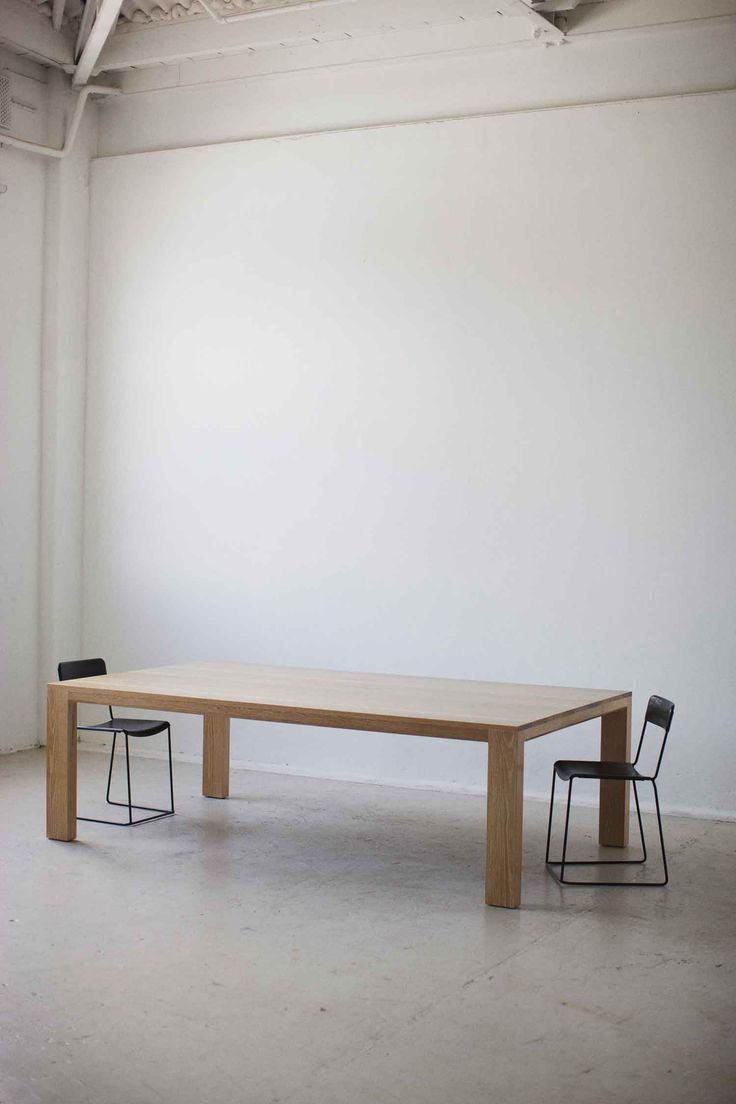 Daniel Barbera Timber Table | Yellowtrace