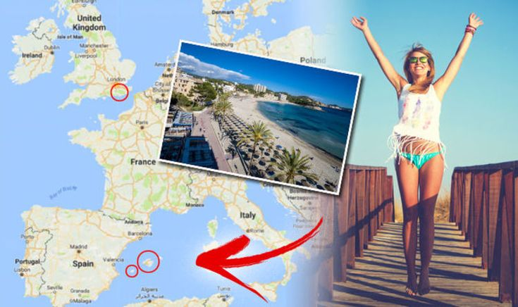 Last minute holiday DEALS: The best places to go in July including IBIZA and Majorca