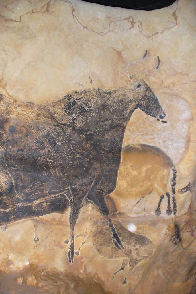 Lascaux in France.  The drawings/etchings are so old and so cool.  I wasn't…