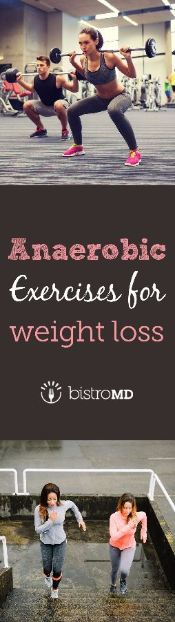 Build & tone muscle, burn calories, boost metabolism, AND lose weight with 5 types of anaerobic exercise!