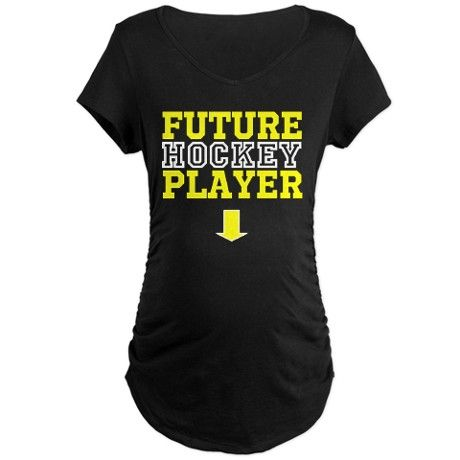 Future Hockey Player Maternity Shirt