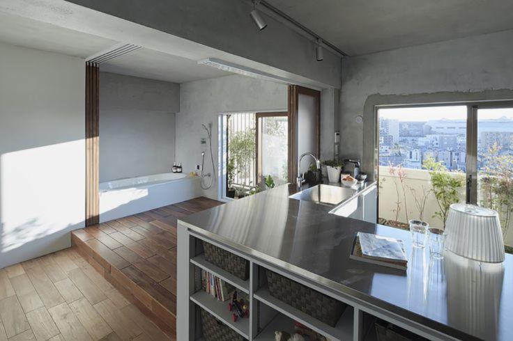 Bath+Kitchen+House+/+Takeshi+Shikauchi