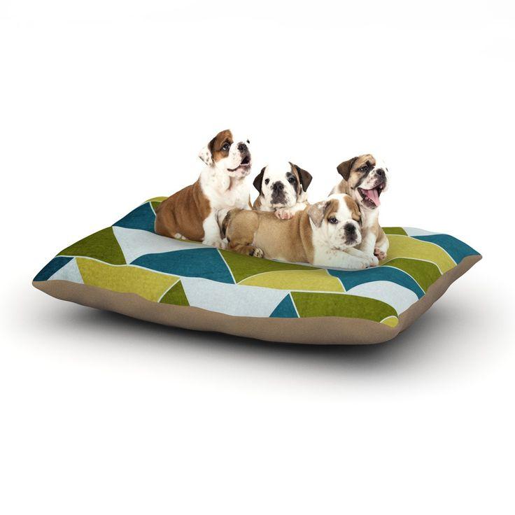 "Catherine McDonald ""Mediterranean"" Dog Bed"