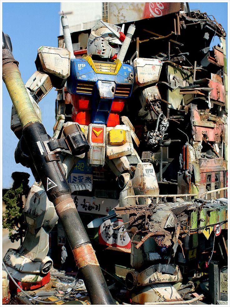 GUNDAM GUY: 1/48 RX-78-2 Gundam 'The Last Survival' - Diorama Build