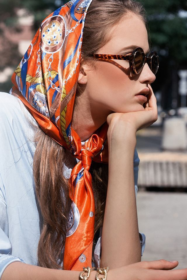 Best Hairstyle For Plus Size Head Scarf Styles Scarf Styles Ways To Wear A Scarf