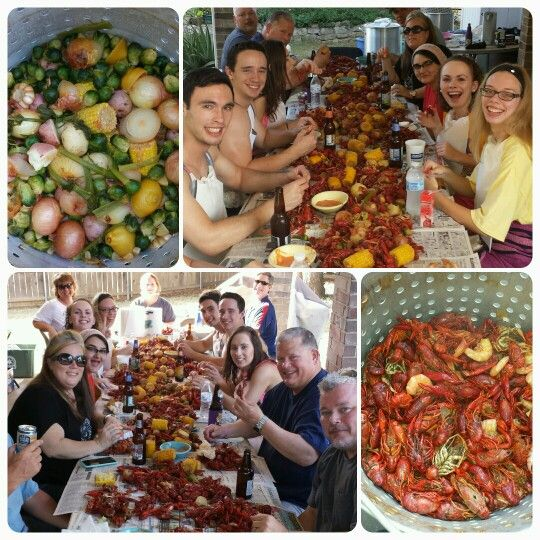 This is how we roll during crawfish season!!