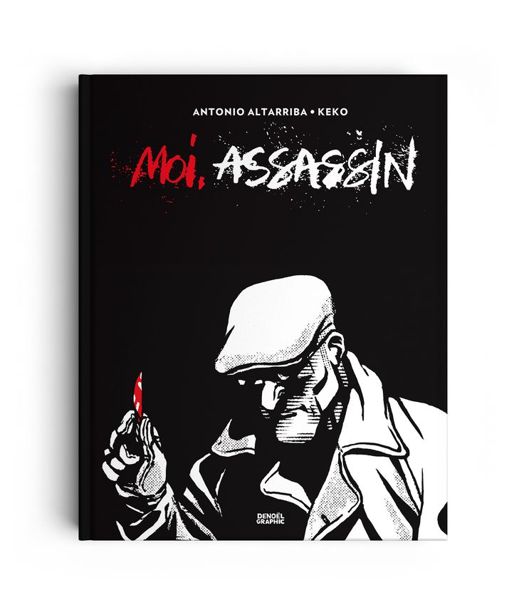 MOI, ASSASSIN - LETTERING - Illustration : Keko - Publisher : Denoël Graphic (France)