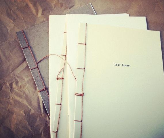 libby burns design - lady bones literary zine. lovely
