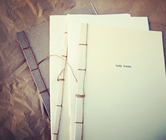 libby burns design - lady bones literary zine. lovely