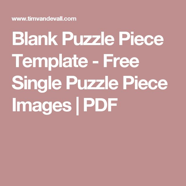 17 best ideas about Puzzle Piece Template – Puzzle Piece Template