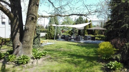 #ogródek #hotel #lavender #Poznań
