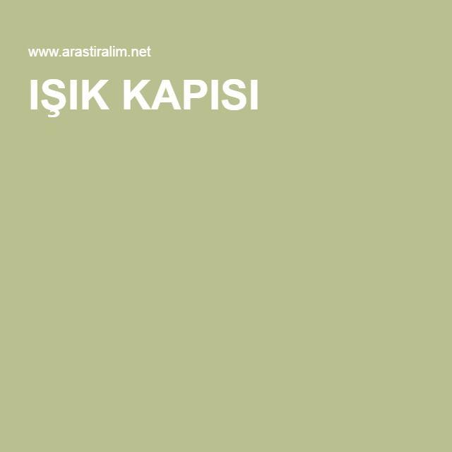 IŞIK KAPISI