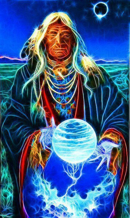 ✣...Every thing an Indian does in a circle ,and that is because the power of the world always works in circles and everything tries to be round...    ✣ Black Elk    Image Source; Shamanic Dream