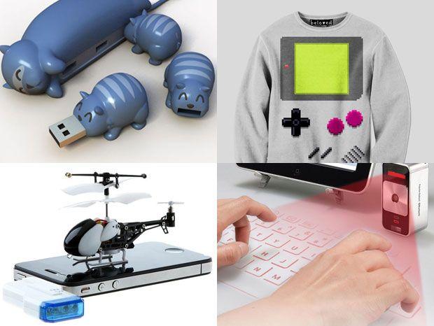 Les gadgets geek du vendredi : sweat Game Boy, hélicoptère télécommandé par iPhone...