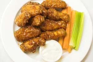Sweet And Spicy Chicken Wings. Such a hit this weekend and the leftovers were great in burritos!