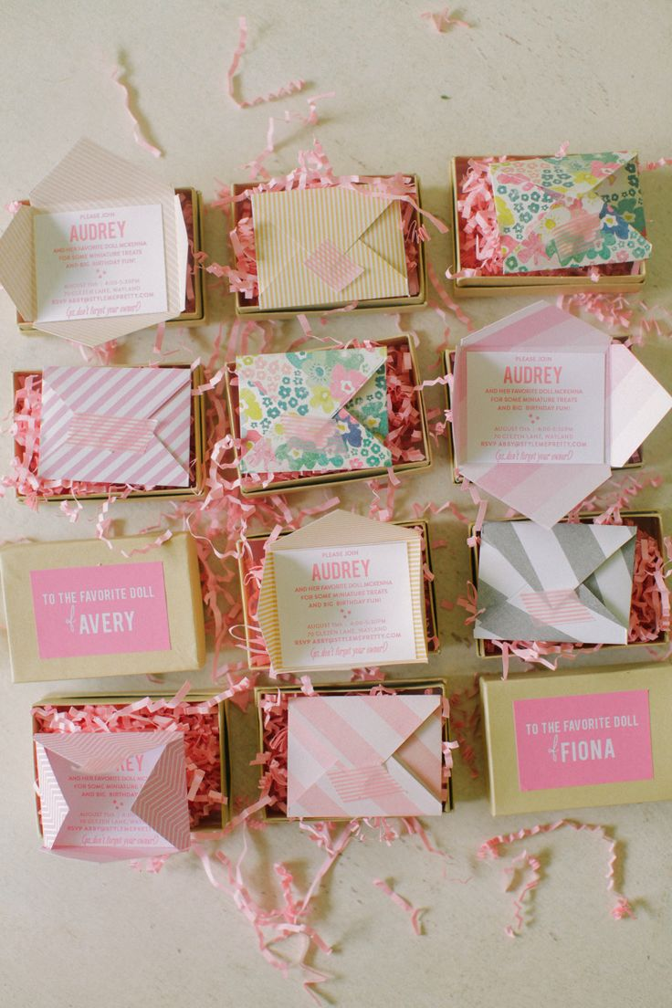 Best Invitations Images On Pinterest Invitations Party - Creative diy birthday invitations in a box
