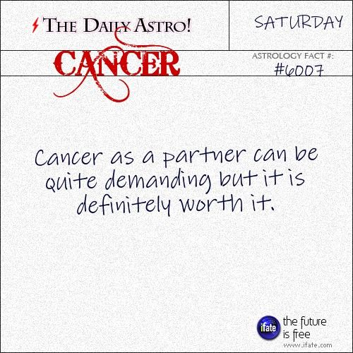 Cancer Daily Astro!: Were you born on a full moon? On a new moon? Find out what phase the moon was in when you were born. Visit iFate.com today!