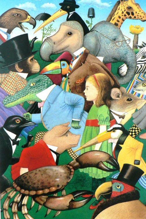 Anthony Brown ILLUSTRATION | How I reimagined Alice in Wonderland