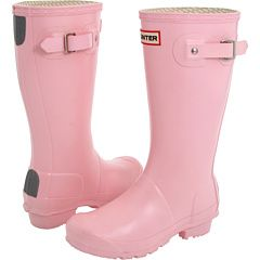Pink Hunter boots #breastcancerawareness