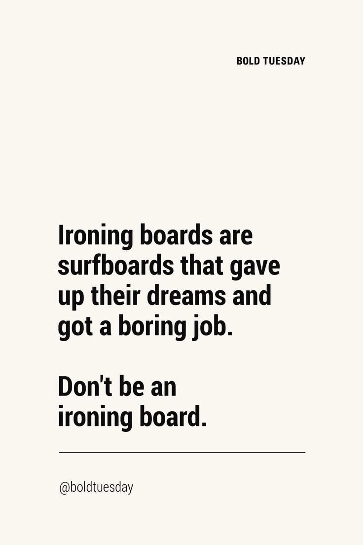 but even ironing boards have purpose 😊