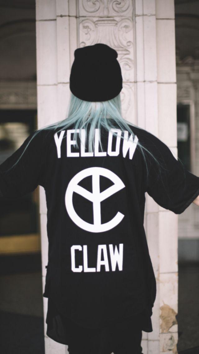 Yellow Claw shirt.