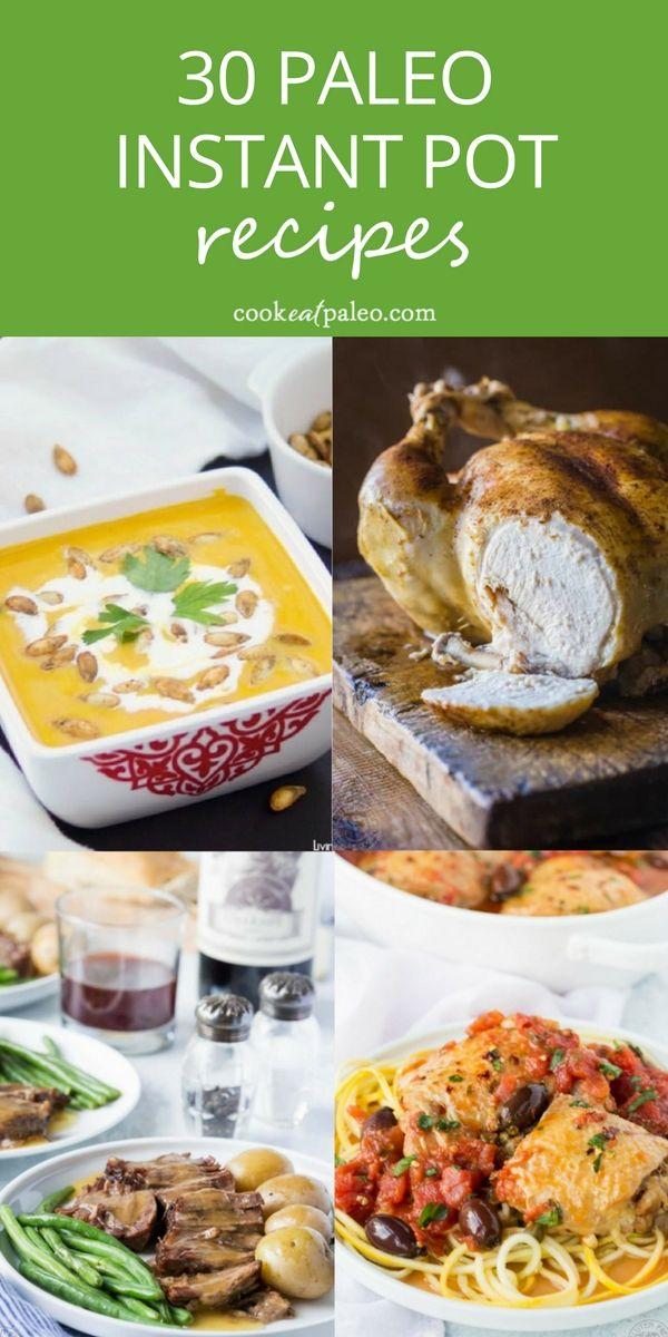 30 Easy Paleo Instant Pot Recipes