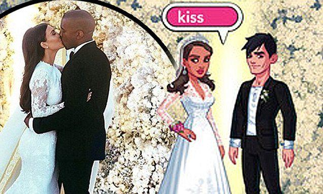 kim kardashian s hollywood game adds wedding feature with on kim wall id=88633