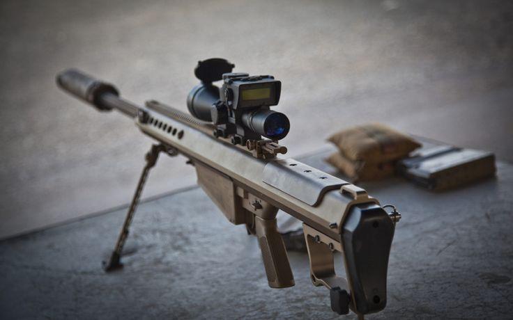 самозарядная, barrett m82